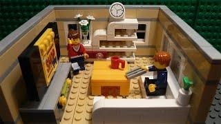 LEGO САМОДЕЛКА #12 | Гостиная / Living room(Всем привет! Перед вами серия самоделок, в которых показано, как построить ту или иную комнату для вашего..., 2015-06-16T13:59:31.000Z)