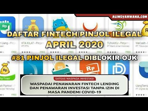 Daftar 81 Pinjaman Online Ilegal Yang Diblokir Ojk Per April 2020