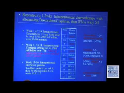 Peritoneal Mesothelioma Treatment - Dr. Robert N. Taub
