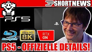 Endlich offizielle PS5 Details! - Ray-Tracing / 8K / SSD/ Blu-Ray - ShortNerdNews 413