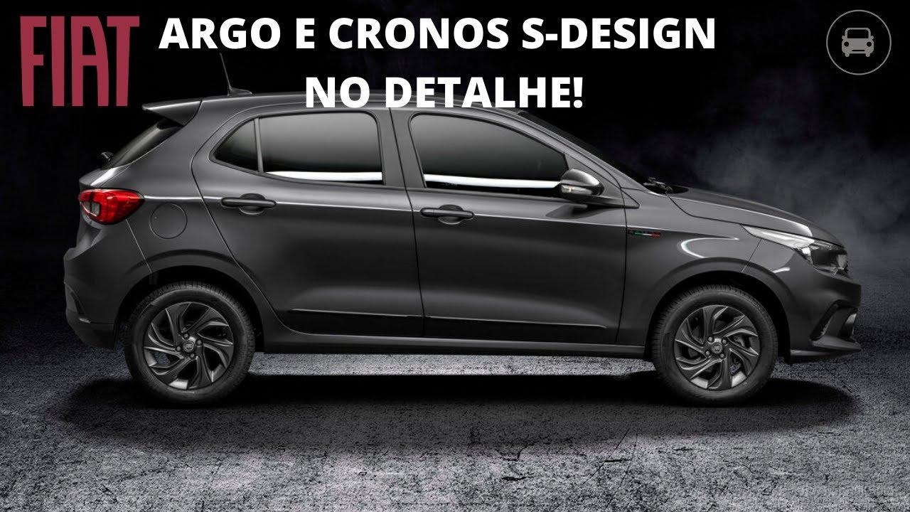 Fiat Argo E Cronos S-design No Detalhe