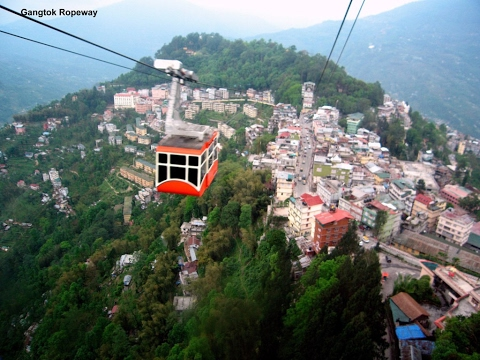 Sikkim is a beautiful tourist destination