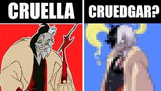 CRUELLA DE VIL...AS A GUY?! [Disney Redesign Collab with DrawingWiffWaffles!]