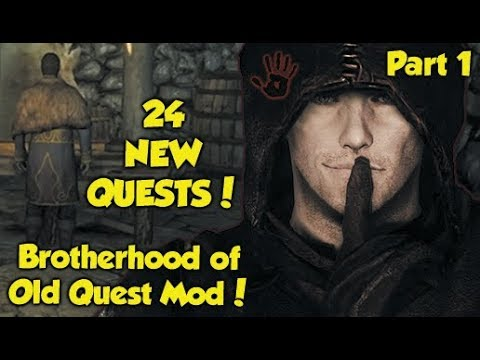 "24 NEW DARK BROTHERHOOD QUESTS! Skyrim ""Brotherhood of Old"" Quest Mod! (Part 1) thumbnail"