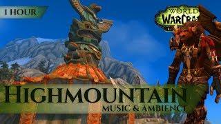 Highmountain - Music & Ambience (1 hour, 4K, World of Warcraft Legion)