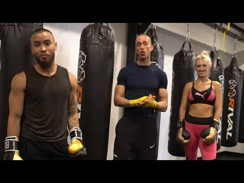35 Minute Boxing Class.  HEAVY BAG HIIT