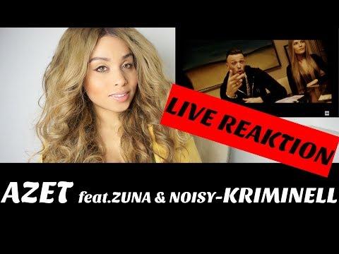 AZET ft. ZUNA & NOIZY - KRIMINELL 🎼 live reaction | Jennyfromtheblog