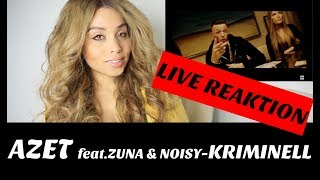 AZET ft. ZUNA & NOIZY - KRIMINELL  🎼 live reaction | Jennyfromtheblog