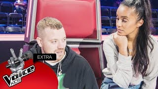 Nora gaat backstage bij Team Gers! | The Voice Kids Extra 2018