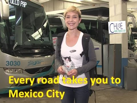 Every road takes you to Mexico City, definitely it is a destination with in Mexico