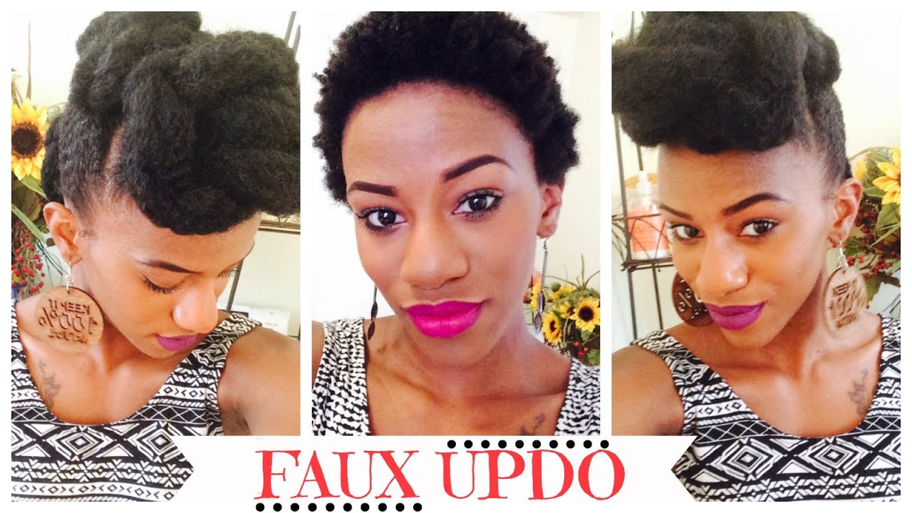 Twa faux updo protective style youtube pmusecretfo Image collections