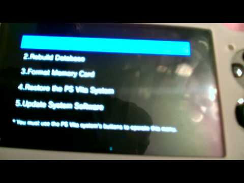 How To Reset the PS Vita (Step By Step) from YouTube · Duration:  2 minutes 29 seconds
