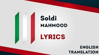 Italy Eurovision 2019: Soldi - Mahmood [Lyrics] Inc. English translation! 🇮🇹