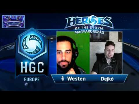 HGC Europe Week #8 Day #1 all stream