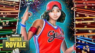 Drawing Fortnite Battle Royale Triple Threat - BASKETBALL SKIN! Characters / Fortnite Dibujos