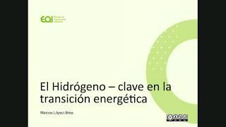 Webinar El Hidrógeno renovable: clave en la Transición Energética