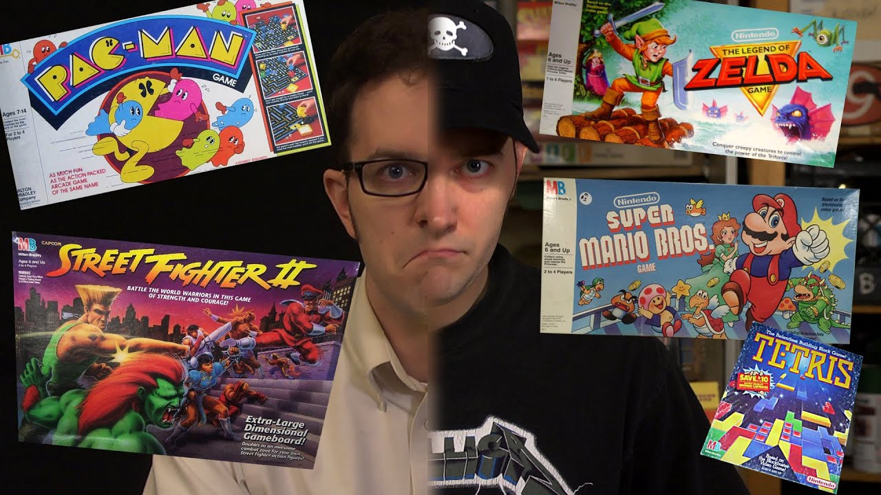 Video Games !! - Board James (Episode 25) with AVGN