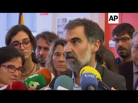 Omnium Cultural independence group on Catalan vote