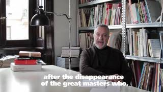 Marco Romanelli introduces the Salone interviews