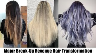 MAJOR BREAKUP REVENGE HAIR TRANSFORMATION