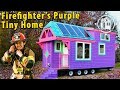 Her Colorful Victorian Tiny House Is Spectacularly Eye-Catching
