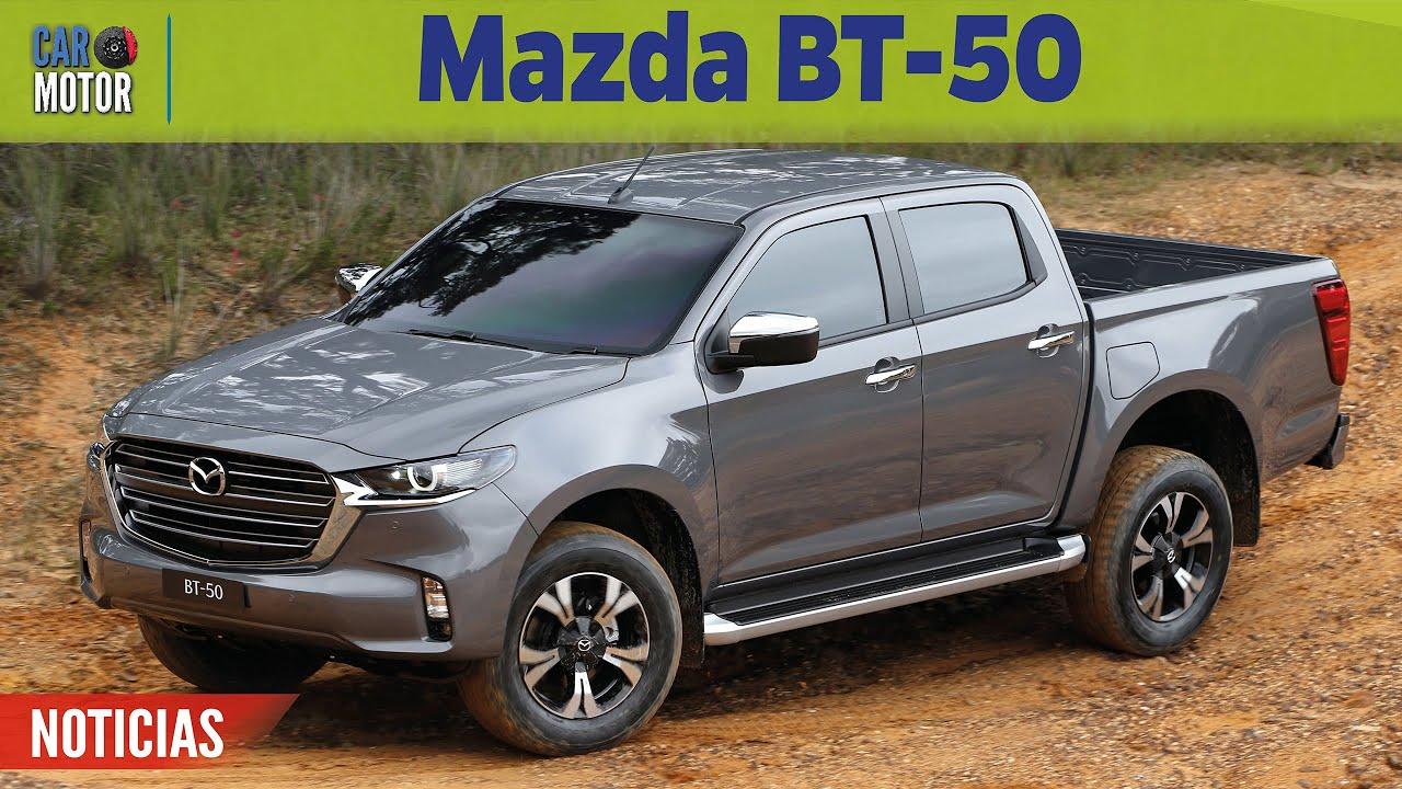 mazda bt50 2021  🔥más potencia y lujo 😎  car motor