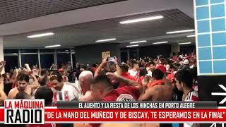 """NUEVO HIT: """"DE LA MANO DEL MUÑECO Y DE BISCAY"""" (LA FIESTA DE LOS HINCHAS EN PORTO ALEGRE)"""