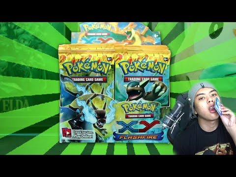 OPENING A 300 DOLLAR BOOSTER BOX! | (FULL ART AND 2 EXS!) Pokemon Flash Fire Booster Box Opening