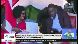 DP Ruto cautions against coercing Kenyans to endorse BBI report