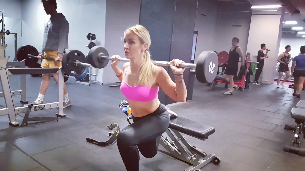 Amanda: Bulgarian Split Squats
