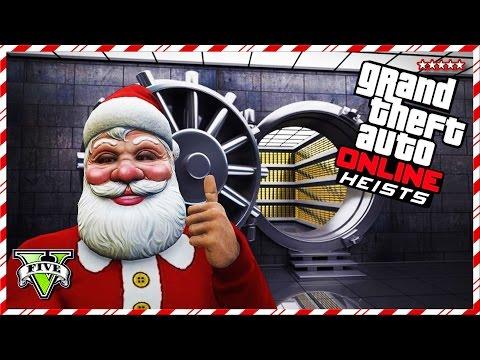 GTA 5 Online CHRISTMAS HEISTS Jobs!! - GTA V Online AIRCRAFT CARRIER Heist! - 12 Days Of Christmas