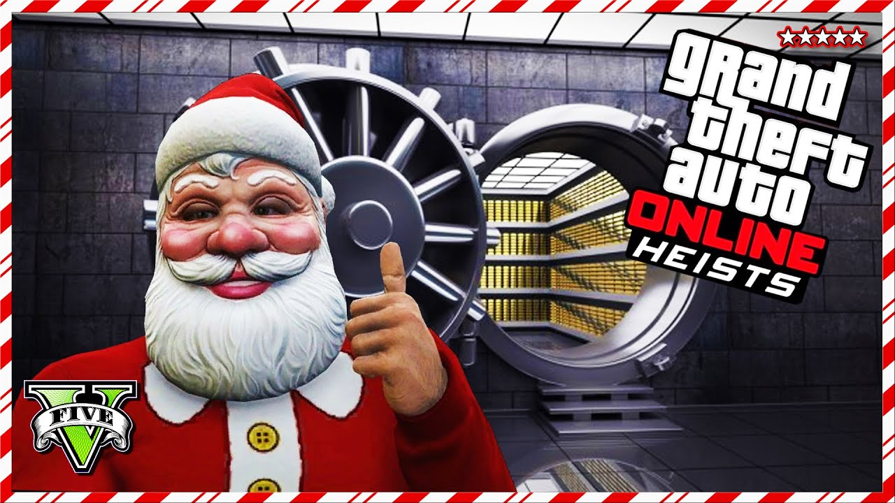gta 5 online christmas heists jobs gta v online aircraft carrier heist 12 days of christmas youtube - Gta V Christmas