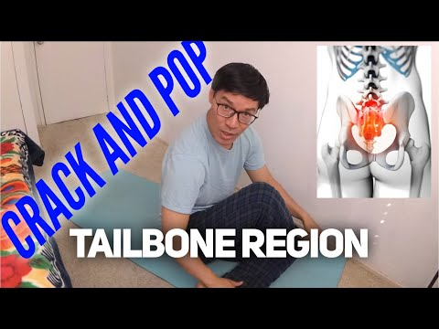How to Crack My Lower Back and Pop Tailbone Pain Away Stretch Guide ( No Chiropractor Needed )