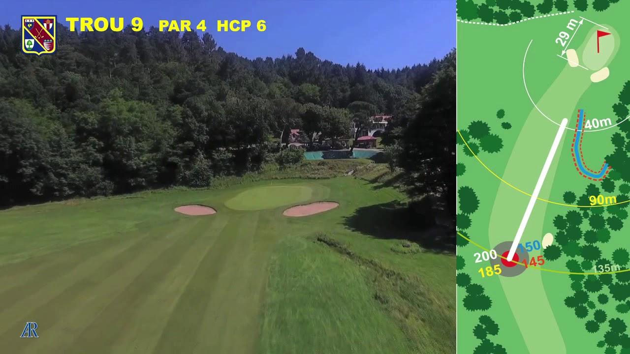 Vidéo du trou numéro 9 | Golf La Barouge Mazamet