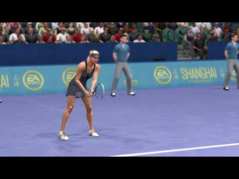 Ana Ivanovic Maria Sharapova Grand Slam Tennis 2 Simulated Matchup