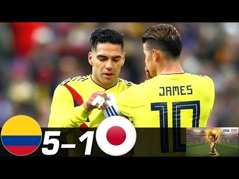 Colombia vs Japan 5-1   All Goals & Extended Highlights Last Matches  HD
