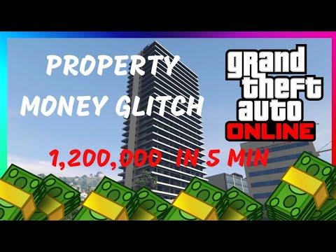 *New*  EASY GTA 5 Money Glitch (Property Glitch) (Working)