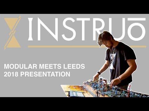 Introduction To Instruo Eurorack Modules // Modular Meets Leeds 2018