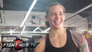 Jessamyn Duke feels Bethe Correia may be under estimating her for their UFC 172 bout