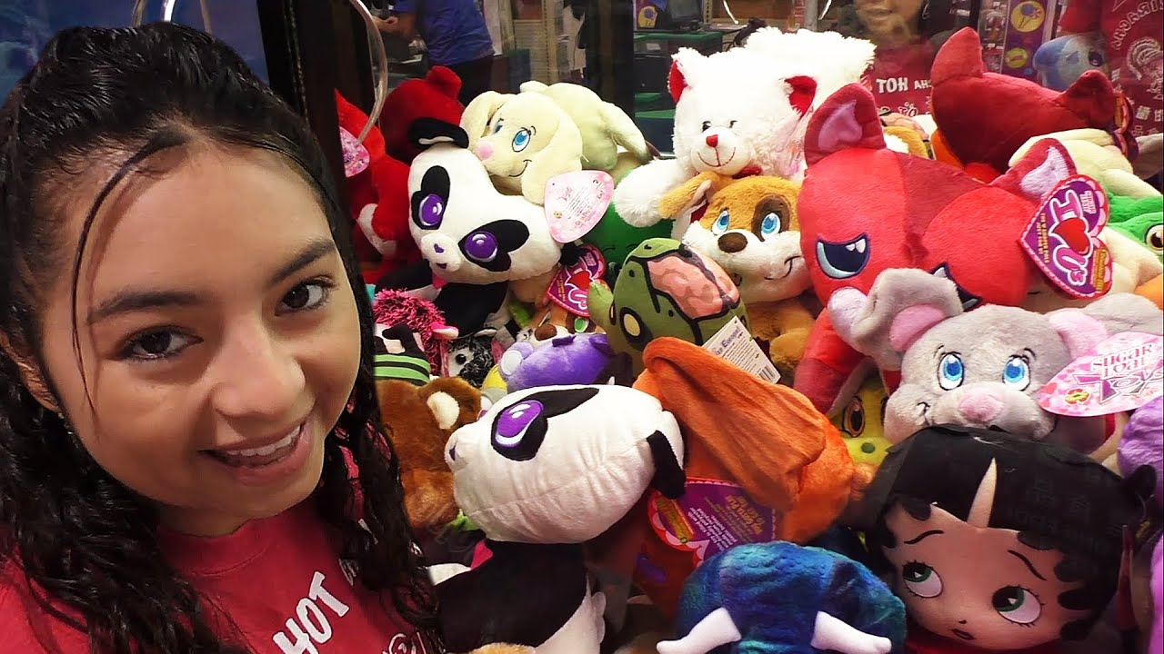 Early Valentines plush  Claw Machine Wins  YouTube
