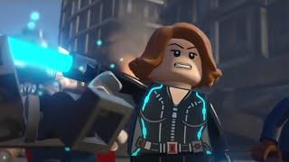 Marvel Serisi - Black Widow ( Kara Dul ) LEGO #8