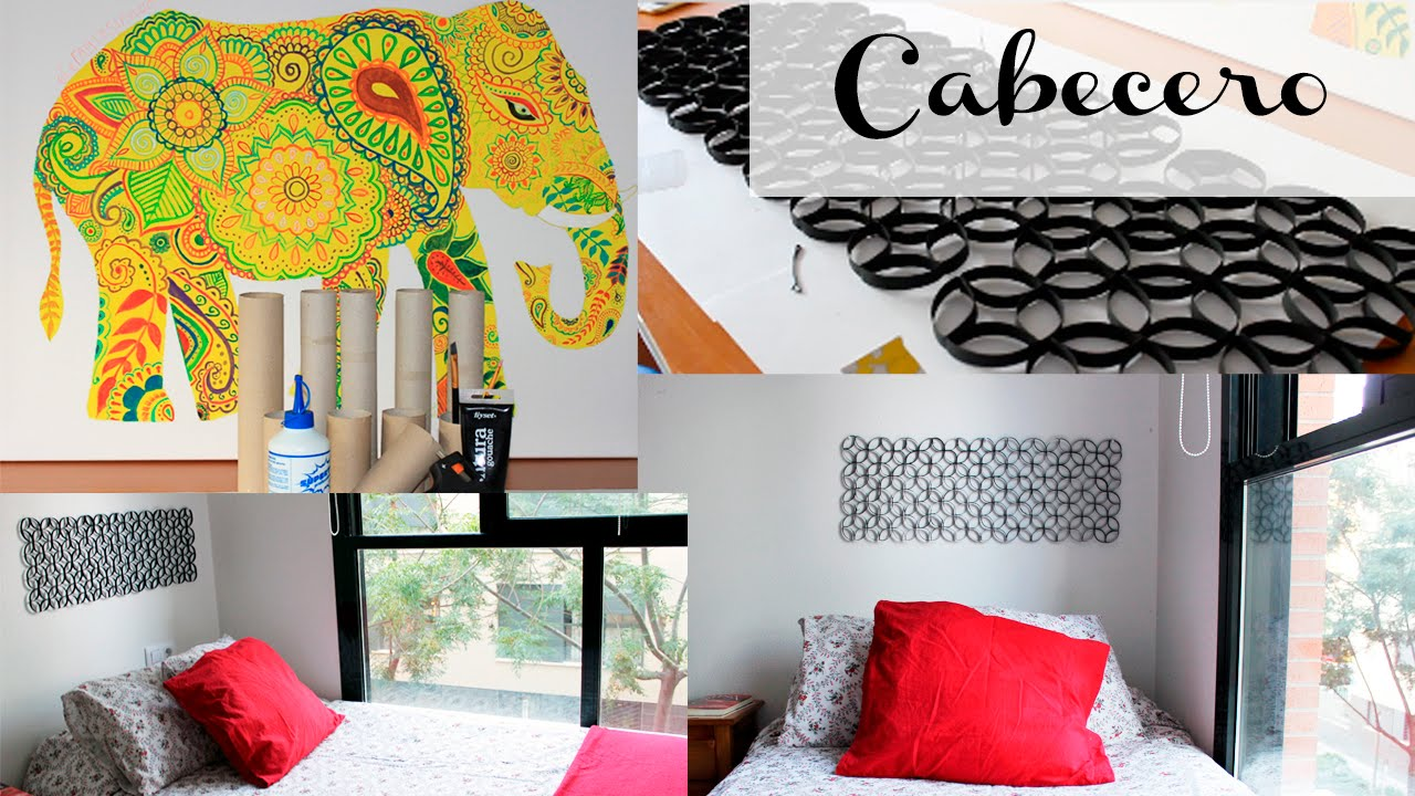Tutorial cabecero de cama diy youtube - Papeles pared baratos ...