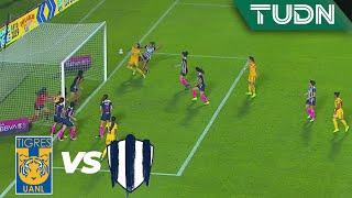 ¡Casi era gol olímpico de Tigres!   Tigres 1 - 0 Rayadas   Liga MX Femenil - Final - AP 19   TUDN