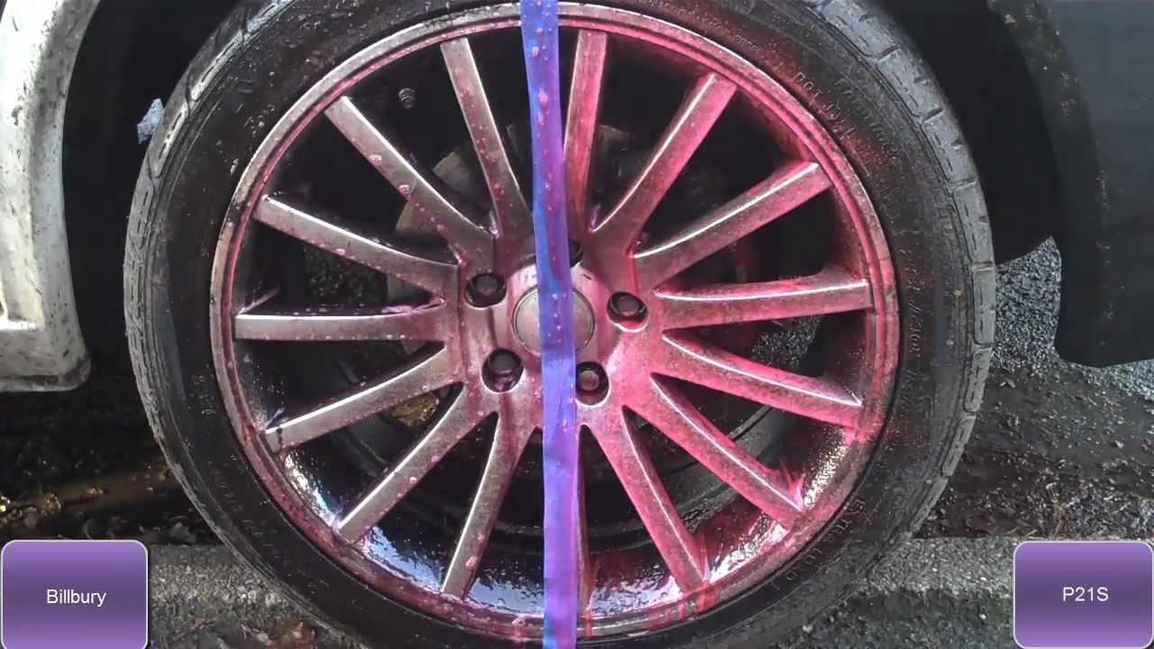Best Alloy Wheel Cleaner Test Valet Pro Bilberry Vs P21s