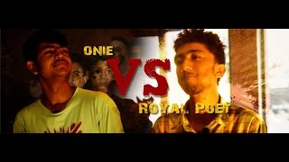 Onie Vs Royal Poet - Raw Barz | Rap Battle