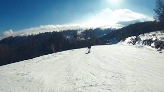 Ski resort Tsaghkadzor Armenia Горнолыжный курорт Цахкадзор Армения 6 03 2019
