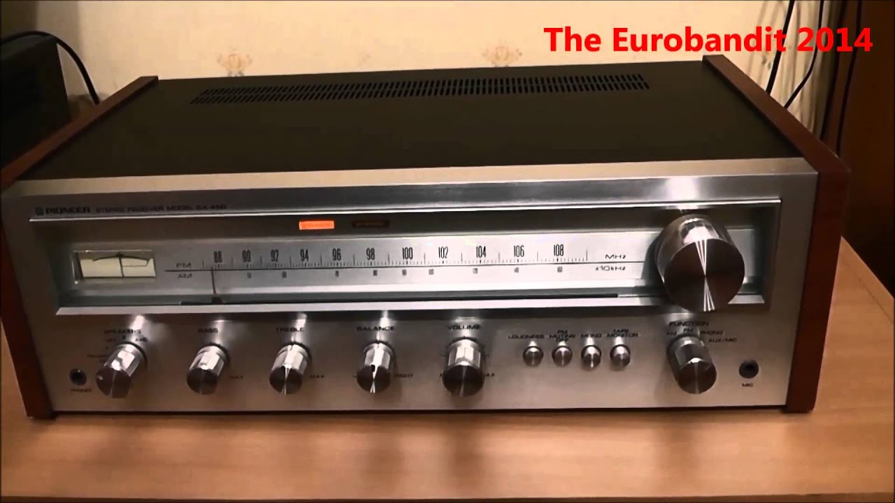 Pioneer SX-450 Stereo receiver review