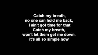 Kelly Clarkson - Catch My Breath Lyrics