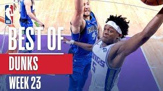 NBA's Best Dunks | Week 23 Video