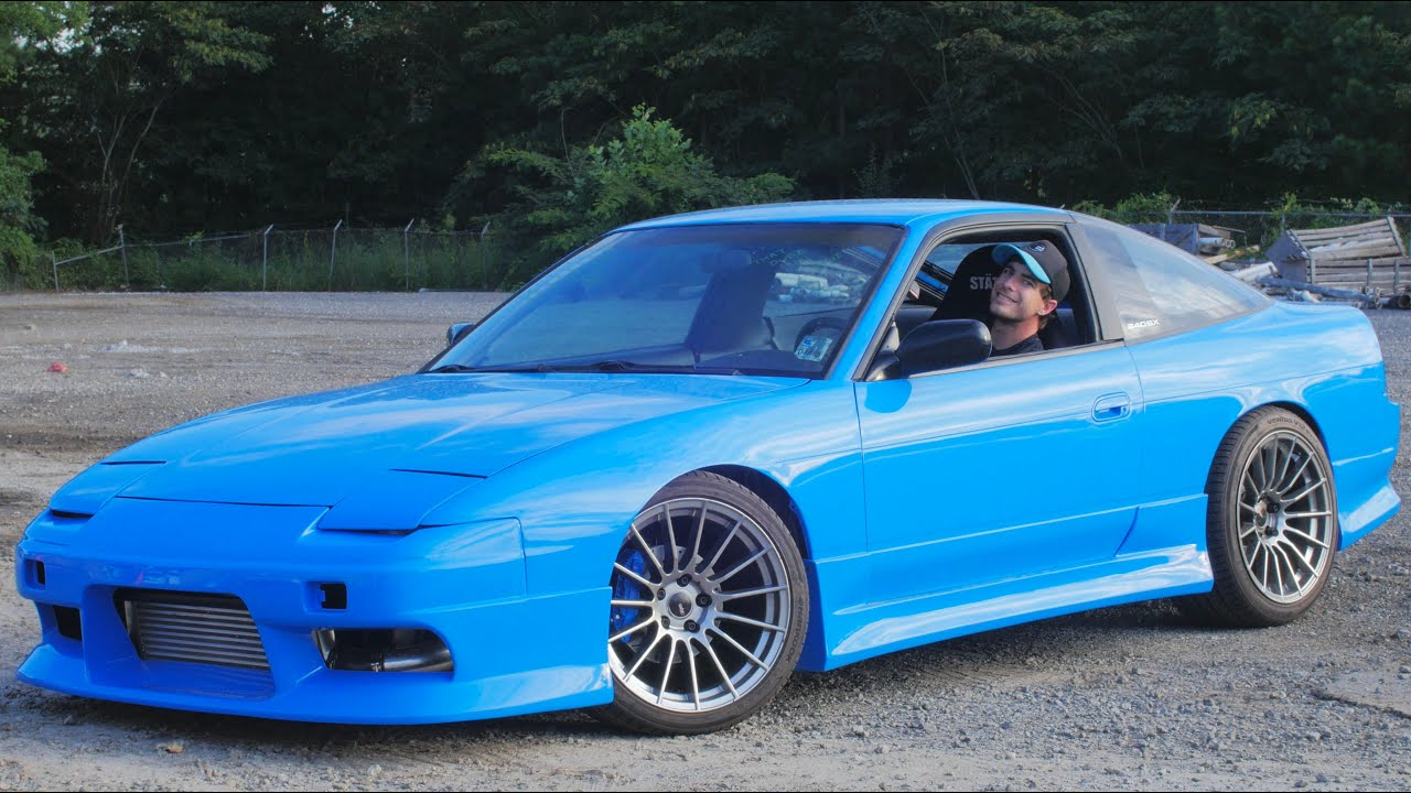 First Start Up Of 240sx Project240smurrfx Ep 25 Youtube